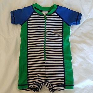 Hanna Andersson Swimmy Rashguard Suit